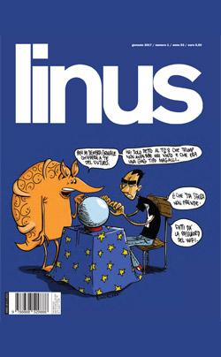 Linus 2017 e il supernumero di gennaio: anno nuovo, formato storico!